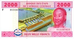East African States - Afrique Centrale Guinée Equatoriale 2002 Billet 2000 Francs Pick 508 Neuf 1er Choix UNC - Guinea Ecuatorial