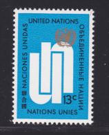 NATIONS UNIES NEW-YORK N°  190 ** MNH Neuf Sans Charnière, TB  (D1381) - New-York - Siège De L'ONU