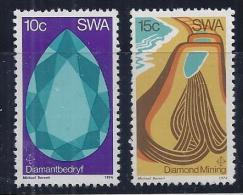 AFRICA DEL SUR 1974 - Yvert #344/45 - MNH ** - África Del Sur (1961-...)