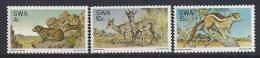 AFRICA DEL SUR 1974 - Yvert #365/67 - MNH ** - África Del Sur (1961-...)
