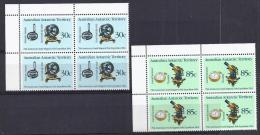 TERRITORIO ANTÁRTICO AUSTRALIANO 1984 - Yvert #61/62 Bloque De 4 - MNH ** - Unused Stamps
