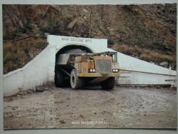 Truck Camion, Main Decline Portal, Mount Lyell, Mining & Railway Co. LTD, Queenstown, Tasmania - Trucks, Vans &  Lorries