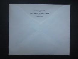 Enveloppe (M1513) PAPETERIES DE SAVENTHEM - ZAVENTEM (2 Vues) Direction - Imprimerie & Papeterie