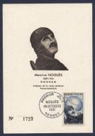 Carte Premier Jour 1951 Maurice Nogues - Cartes-Maximum
