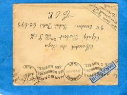 MARCOPHILIE- Guerre INDOCHINE-LettreF M De Françe Cad 1949- Narbonne Pour T O E SP 62673 - Marcophilie (Lettres)