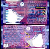 HONG KONG 10 DOLLAR  UNC - Hong Kong