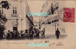 Brazil - Brésil - Recife Pernambuco Rua Do Commercio (1903) - (Marcophilie). - (voir Scan Recto-verso). - Recife
