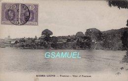Afrique - Sierra Leone Freetown View Of Freetown – (Philatélie). - (voir Scan Recto-verso). - Sierra Leone
