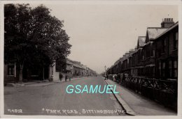 Carte Photo – Card (Map) Photo - Angleterre - Park Road Sittingbourne 1930. - (voir Scan Recto-verso). - Engeland