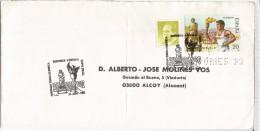 EMPURIES JUEGOS OLIMPICOS BARCELONA 92 CC CON MAT PASO ANTORCHA OLIMPICA Y PERFORADO PERFIN - Sommer 1992: Barcelone