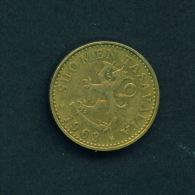 FINLAND  -  1963  20p  Circulated Coin - Finland
