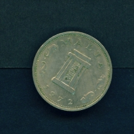 MALTA  -  1972  5c  Circulated Coin - Malta