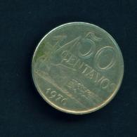 BRASIL  -  1970  50c  Circulated Coin - Brazil