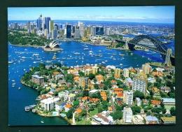 AUSTRALIA  -  Sydney  Kirribilli Suburb  Unused Postcard - Sydney