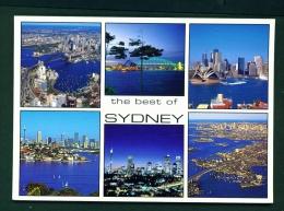 AUSTRALIA  -  Sydney  Multi View  Unused Postcard - Sydney