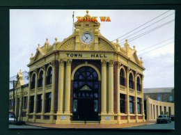 AUSTRALIA  -  York Town Hall  Unused Postcard - Australia