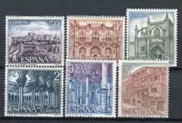 España 1970. Edifil 1982-87 ** MNH. - 1931-Hoy: 2ª República - ... Juan Carlos I