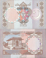 Pakistan Pick-Nr: 25 Bankfrisch 1981 1 Rupee - Pakistan