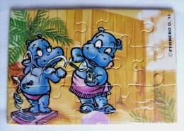 KINDER PUZZLE HAPPY HYPO 90 Incomplet 2 RARE Pour Pièces - Puzzles