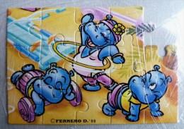 KINDER PUZZLE HAPPY HYPO 90 Incomplet 3 RARE Pour Pièces - Puzzles