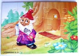 KINDER PUZZLE NAINS 91 2 RARE COMPLET Sans BPZ - Puzzles