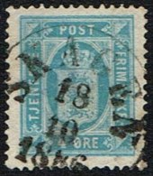 1886. SKAGEN 18 10 1886. 4 øre Tjeneste.  (Michel: ) - JF164686 - Non Classés