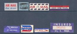 USA - VIGNETTES PAR AVION - BY AIR MAIL - United States