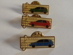 Renault 3 Pin's - Otros