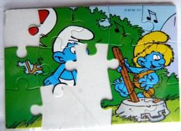 KINDER PUZZLE SCHTROUMPF 95 K97N111 INCOMPLET POUR PIECES Sans BPZ - Puzzles