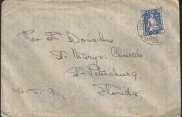 E)1946 IRELAND, SOWER OF SEEDS OF FREEDOM, CLASSIC CIRCULATED COVER TO USA, RARE DESTINATION, F - 1937-1949 Éire
