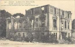 Sedan - Les Ruines De La Maison Stackler - Incendiée Par Les Allemands En 1918 - Sedan