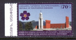 Armenia Karabakh 2015, Belfry In Memory Of The Armenian Genocide, Monument In Stepanakert- MNH ** - Monuments