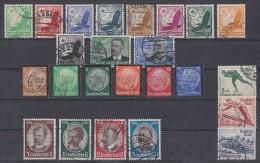 DR Lot Minr.529-539,540-543,548-553,600-602 Gestempelt - Briefmarken