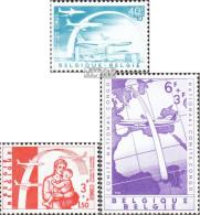 Belgien 1206-1208 (kompl.Ausg.) Postfrisch 1960 Evakuierung - Belgien