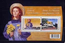 CANADA. 2008  # 2276.   ANNE Of GREEN GABLES   SS - Blocs-feuillets