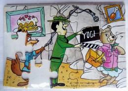 KINDER PUZZLE YOGI BEAR 1995 INCOMPLET POUR PIECES Sans BPZ K96n112 - Puzzles