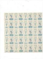 MARCHE DA BOLLO - MARCHE PREVIDENZIALI ASSISTENZA VETERINARI 1967 - 40 MARCHE - Revenue Stamps