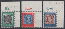 Bund Minr.113-115 OER Postfrisch - Ungebraucht