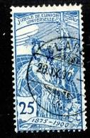 9039  Swiss  1900  Michel # 73  ( Cat. 40.€ ) - 1882-1906 Armoiries, Helvetia Debout & UPU