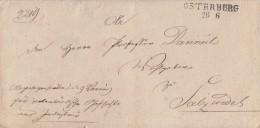 Brief Gelaufen Von L2 Osterburg 26.6. Nach Salzwedel - Deutschland