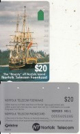 NORFOLK ISL. - The Bounty, First Issue $20(series No 1), Tirage %25000, Used - Norfolk Island