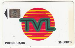 VANUATU - TVL Logo, First Issue 30 Units, CN : 40741, Used - Vanuatu
