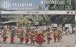 PAPUA NEW GUINEA - Education Development/Laura Elementary School Opening, CN : 804C, Used - Papua New Guinea