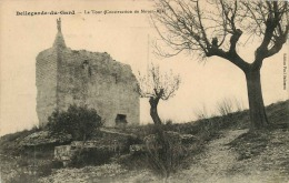 30 BELLEGARDE DU GARD  LA TOUR (CONSTRUCTION DU MOYEN AGE) - Bellegarde