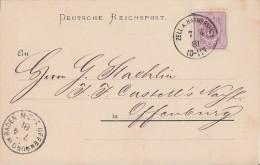DR Karte EF Minr.40 K1 Zell A. Hamersbach 7.4.81 - Deutschland