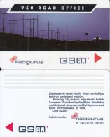 FINLAND - 950 Road Office, Radiolinja GSM, Sample - Finland