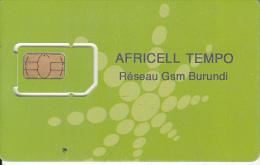 BURUNDI - Africell Tempo GSM, Mint - Burundi