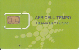 BURUNDI - Africell Tempo GSM, Mint