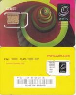 R.D.CONGO(ex ZAIRE) - Zain GSM, Mint - Congo
