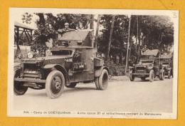 56 Morbihan Coetquidan Camp De Coetquidan Autos Canon37 Et Mitrailleuses - Guer Coetquidan
